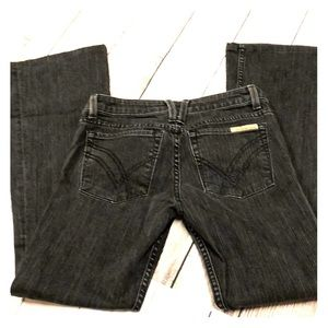 William Rast Betty flare black jeans